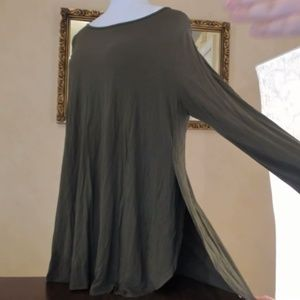 Old Navy Olive Green Long Sleeve T shirt XXL